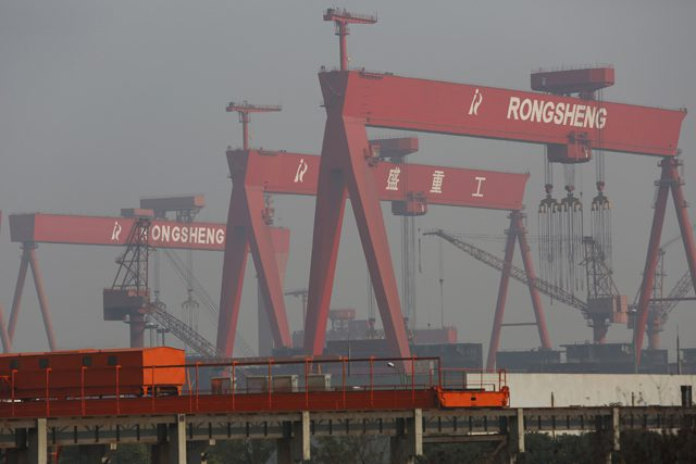 rongsheng heavy industries shipyard shipbuilding