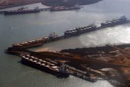 Cyclone Stops Australia's Iron Ore Exports as Rigs Shutdown