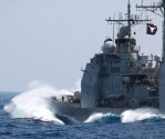 U.S. and Chinese Warships Narrowly Avoid Collision In South China Sea