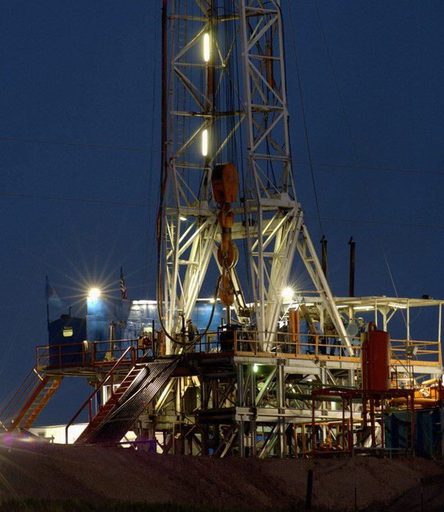 drilling texas land rig