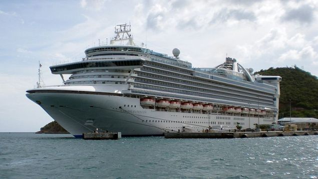 Caribbean Princess is owned and operated by Princess Cruises, a subsidiary of Carnival Corp.