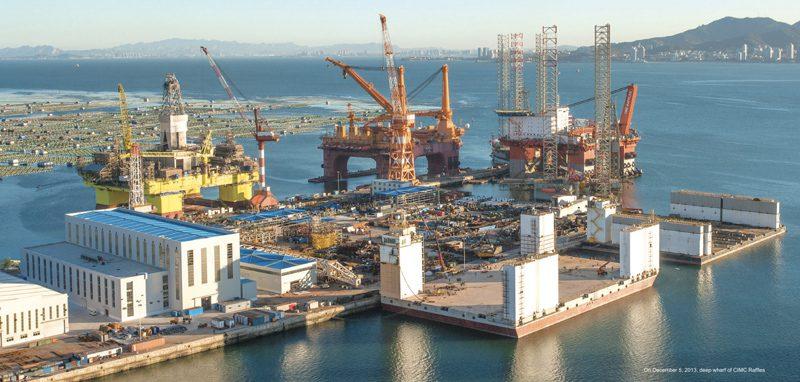 cimc raffles shipyard china