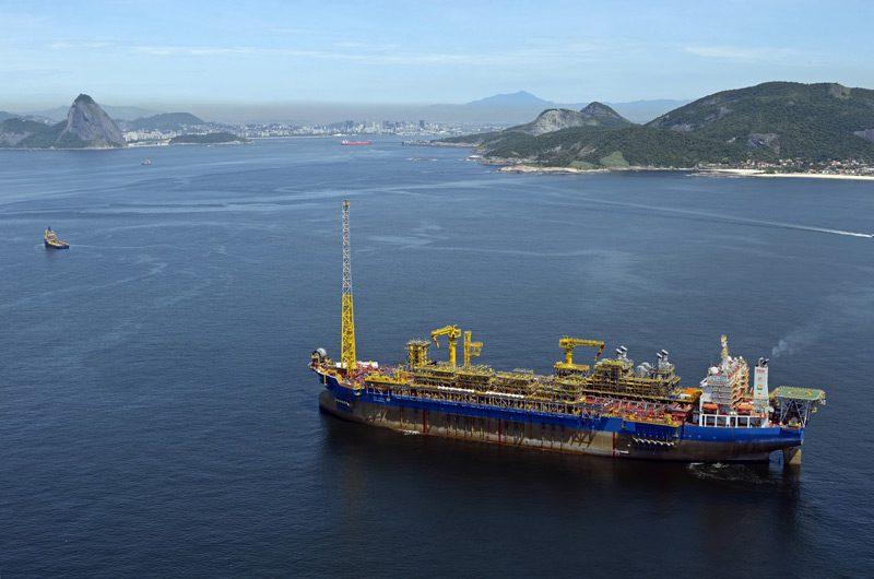 Brasa shipyard FPSO Cidade de Ilhabela