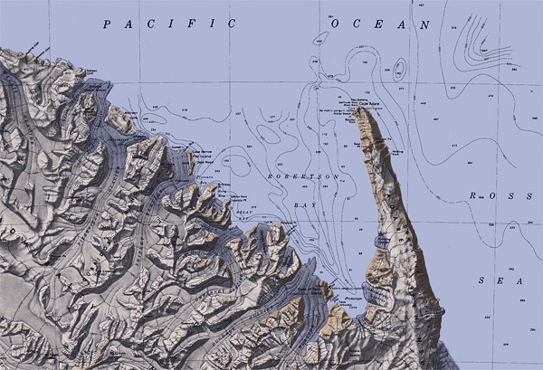 Map Cape Adare