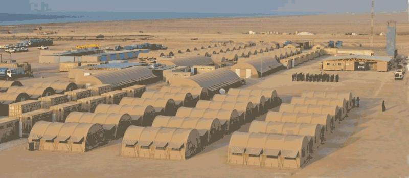 PMPF Bosaso base camp
