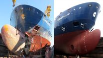 Nose Job Leads to Big Savings for Clipper Multi-Purpose Vessel