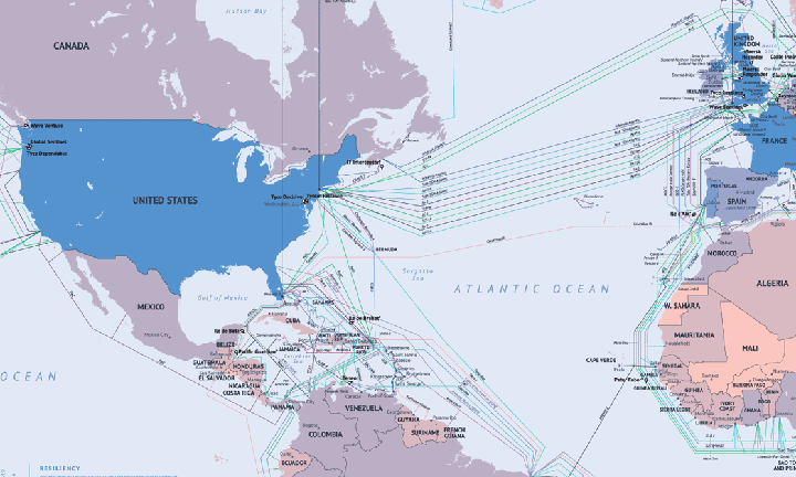 submarine cables 2014