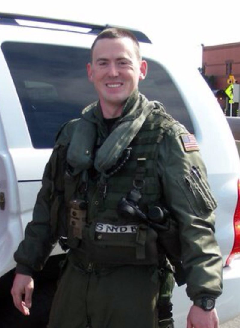 File photo of Lt. Christopher Sean Snyder