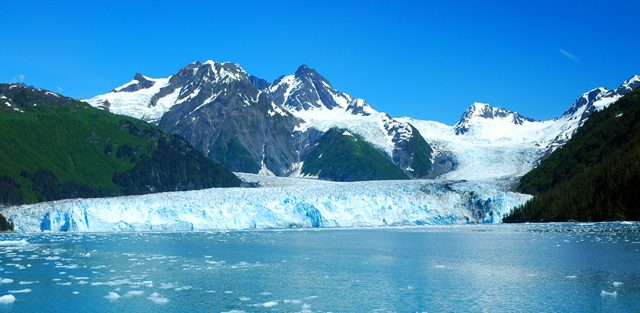 prince william sound alaska Meares Glacier