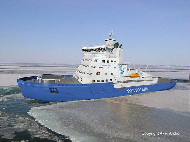 aker arctic icebreaker