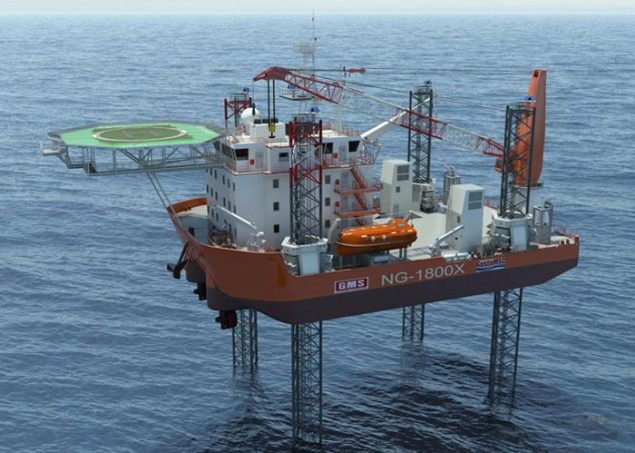 gulf marine services s-class jackup barge