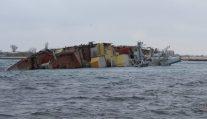 Russian Warship Sunk Off Crimea