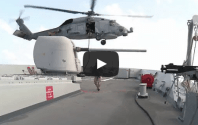 VIDEO: Onboard NATO's Counter-Piracy Flagship