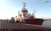 Here's What it Looks Like to Refuel an LNG Powered Tug [VIDEO]