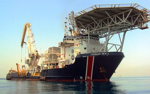 thebaud sea vessel mcdermott