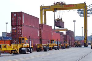 File photo of the Ceres shipping terminal at the Port of Halifax. Photo courtesy Cerescorp