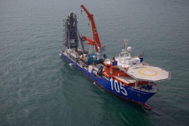lay vessel 105 mcdermott