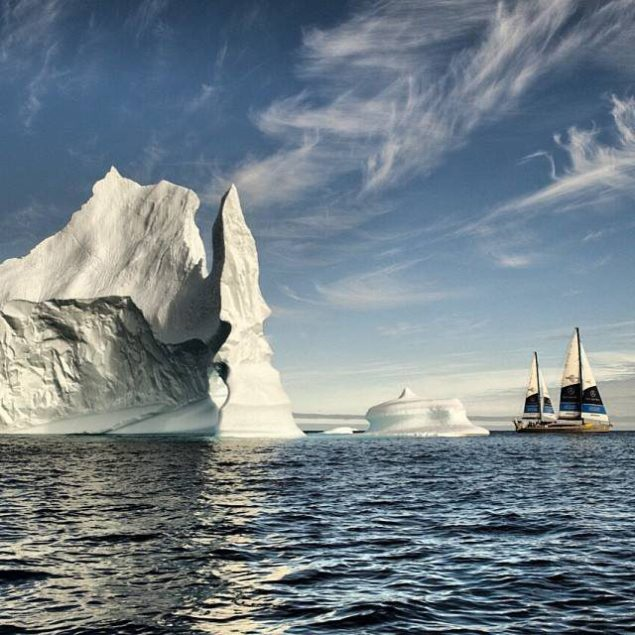 mike horn iceberg pangaea