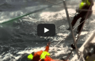 Video: Overboard Yachtsman Rescued from Pacific Ocean