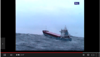 RNLI Crews Battle 10-Meter Seas to Reach Disabled Cargo Ship