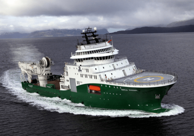 havila phoenix subsea construction vessel