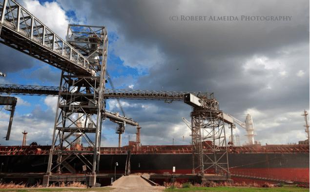port of houston dry bulk grain elevators