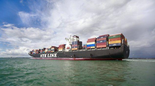 nyk containership southampton