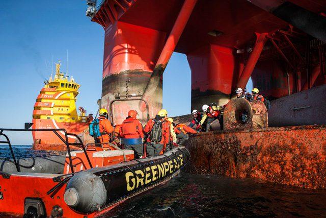 greenpeace Transocean Spitsbergen