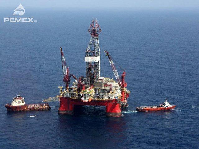 centenario drilling rig pemex grupo R