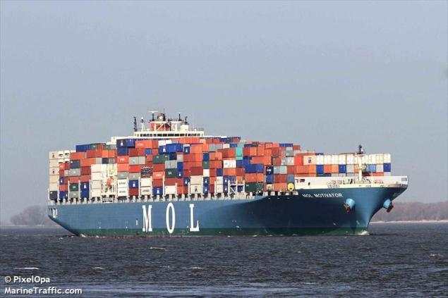 mol motivator containership