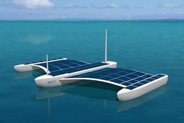 Illustration shows EMP's Aquarius Unmanned Surface Vessel concept.
