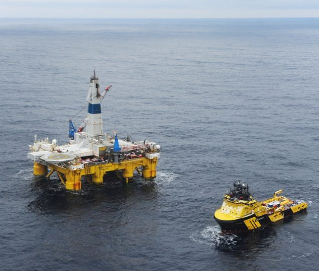 polar pioneer drilling rig johan castberg