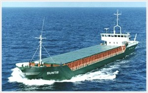 File photo of the general cargo ship, MV Suntis. Photo courtesy Gerhard Warnk GmbH & Co. KG
