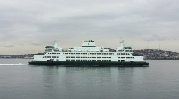 Man Fined $100,000 For Laser Strike on Washington State Ferry