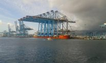 Port of Algeciras Gets Some Really, Really Big Cranes