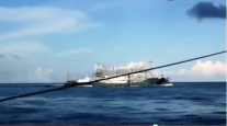 WATCH: Chinese Ship Runs Over and Sinks Vietnamese Fishing Boat