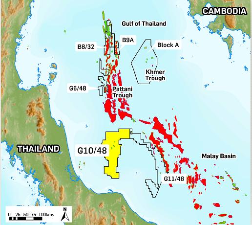 krisenergy pattani basin gulf of thailand