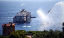 At 2 Knots, Costa Concordia Heads to the Scrapyard