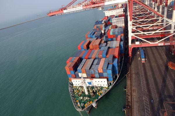 bandar abbas shahid rajaee port containership iran