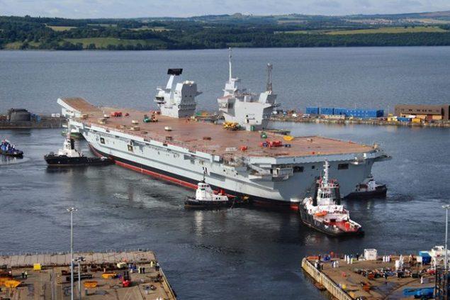 Photo courtesy Royal Navy