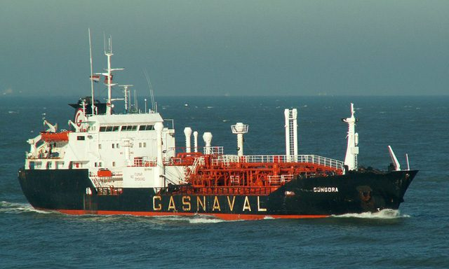 virgo gas ship