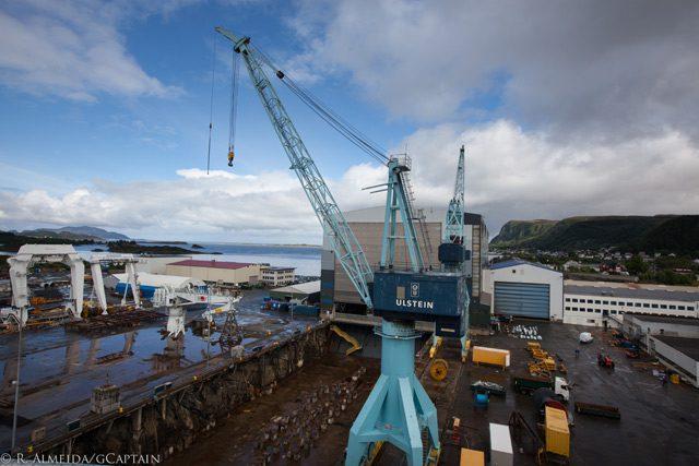 ulstein verft shipyard