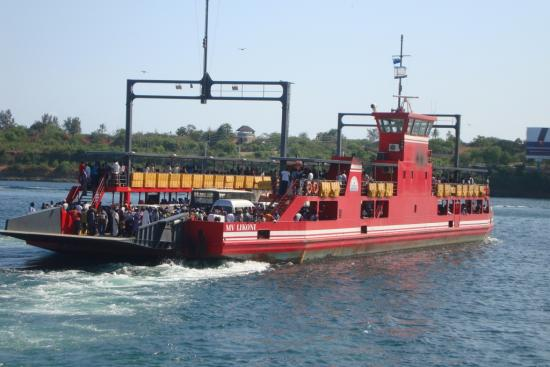 The MV Likoni has a capacity of 1,500 passengers and 60 cars. Photo courtesy Kenya Ferry Service