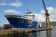 SPOTD: Technip's Latest Subsea Construction Ship, North Sea Atlantic