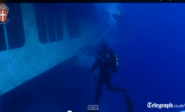 Italian Police Release HD Video From Inside the Costa Concordia