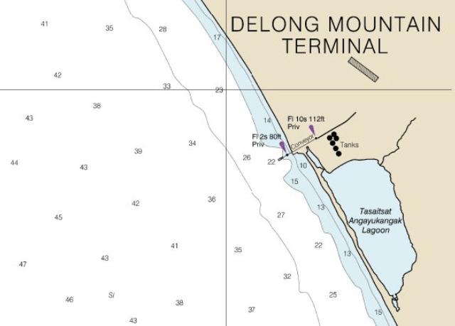 Delong mountain terminal