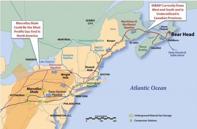 lng transmission pipelines united states