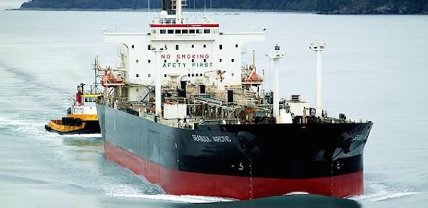 The MV Seabulk Arctic. Photo courtesy Seabulk Tankers