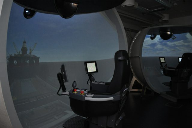 rolls-royce maritime training simulator