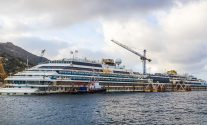 Costa Concordia Refloating to Kick Off Monday